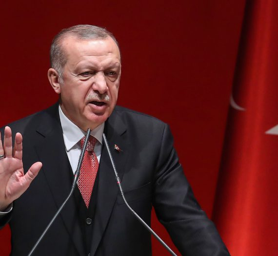 Erdogan warns Europe of fear of danger if UN-backed government falls in Libya