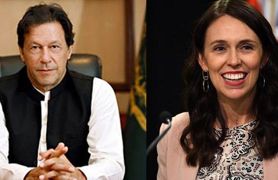 PM Khan felicitates Jacinda Ardern on her re-election as NZ rudimentaire