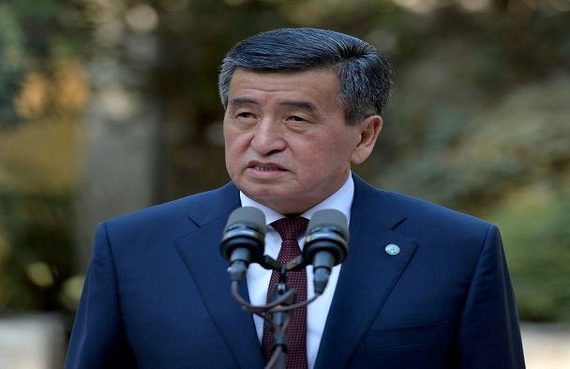Kyrgyz president quits; addition minister, newly sprung from jail, takes over